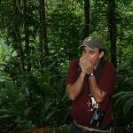  our great guide Abel