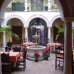 El patio interior