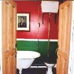  The victorian bathroom.