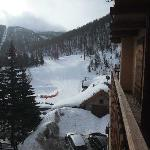  Nice view of slopes and lift from our room