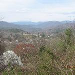Looking down on Bryson City from The Ridge Top Motel.