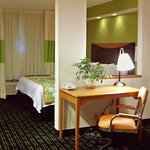 King room suite for the Fairfield Inn & Suites Midland