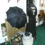 One of several lovely victorian displays around the inn.