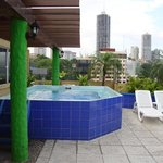  jacuzzi en la terraza