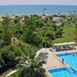 Club Tayyarbey Hotel pool and sea