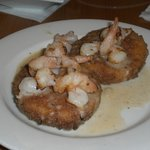 Shrimp over grits?