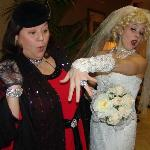 "Carla Beckenstein and bride Bunny Beckenstein in ""Godfather of the Bride"""
