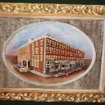  Painting of Hotel in Lobby