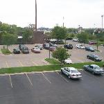 3rd Floor View Of Parking Lot