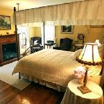  The English Country room is one of four bedrooms at Brambleberry Bed and Breakfast.