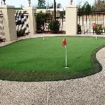 Get in some putting practice at our exclusive Putting Green before heading out to Crown Colony C