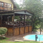 Eperience breathtaking views from both levels of the Shingwedzi Chalet