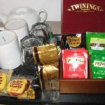 Complementary tea coffee