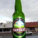Cider Bottle at La Scala Restaurant in Paihia NZ