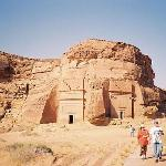 Madain Saleh ( other name Al-Hijr), located in the Al Madinah Region, Saudi Arabia