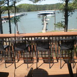 Acworth Fish Camp deck