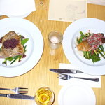 Tuna and Salmon dishes