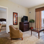 Our One-Bedroom Suite with Two Queen Beds offers all the comfortable features of home. The fully