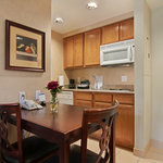 Our Accessible Suites are designed for ease of mobility. The fully equipped kitchen, built to lo
