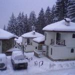 my chalet in the snow