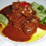 Pork with chocolate & chiles