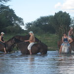 ‪Riding in Hwange‬