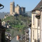  The castle at Najac