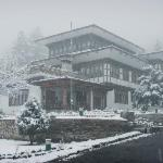 Hotel Motithang during winter