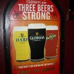 Three Beers Sign at Coat of Arms