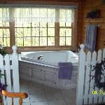 Another picture of the jacuzzi
