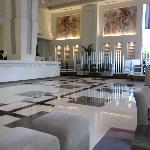 Lobby of the Park Plaza