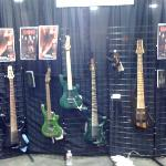 Chris' lovely basses, please buy one at APC instruments dot com