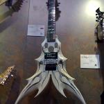  One crazy guitar