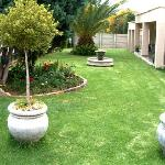 Lush lawns to laze on while relaxing in the sun