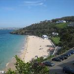 View from front of hotel (Porthminster Beach)