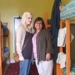 Me and my mum in the room