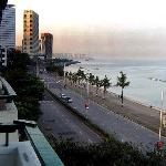 view of Marine Drive from sea facing room