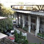 view of Bombay Cricket Club from side room