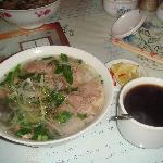  Our morning pho for breakfast