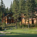 18th green at Northstar-at-Tahoe Resort golf course