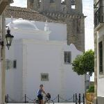 Biking around Old Faro