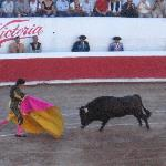 Corrida de Toros 3 blocks down the Street