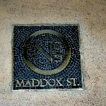 Photo of No. 5 Maddox Street
