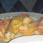 Shrimp in Wine Sauce