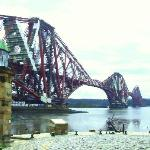 The Forth Bridge & Wee Lighthouse North Queensferry