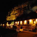  Nightime in La Roque Gageac