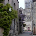  Rue St Pierre looking up to the cathedral