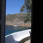 Mandraki Bay from Spiros's House