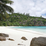 Powder white sand beach