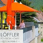 Foto de Pension-Cafe-Restaurant Loffler